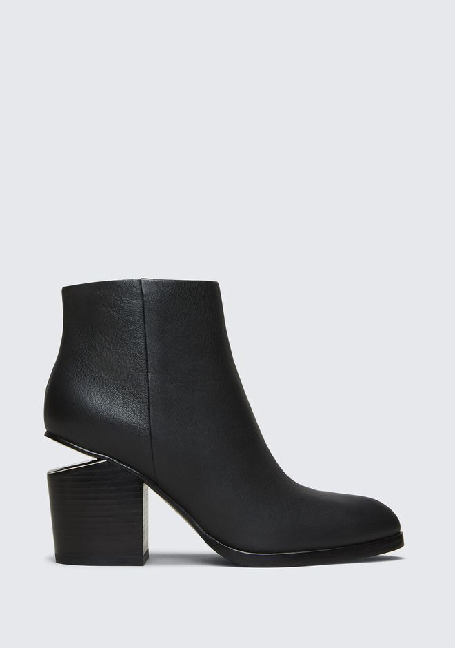 ALEXANDER WANG Boots GABI BOOTIE WITH RHODIUM