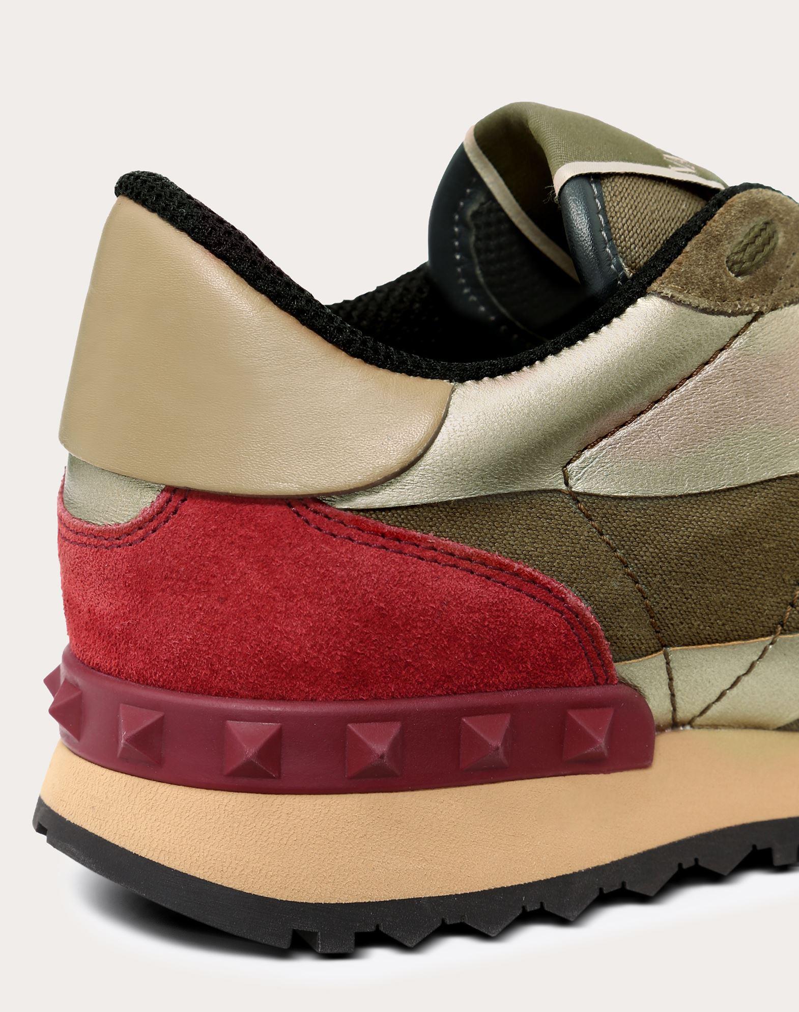 VALENTINO GARAVANI Camouflage sneaker LOW-TOP SNEAKERS D a