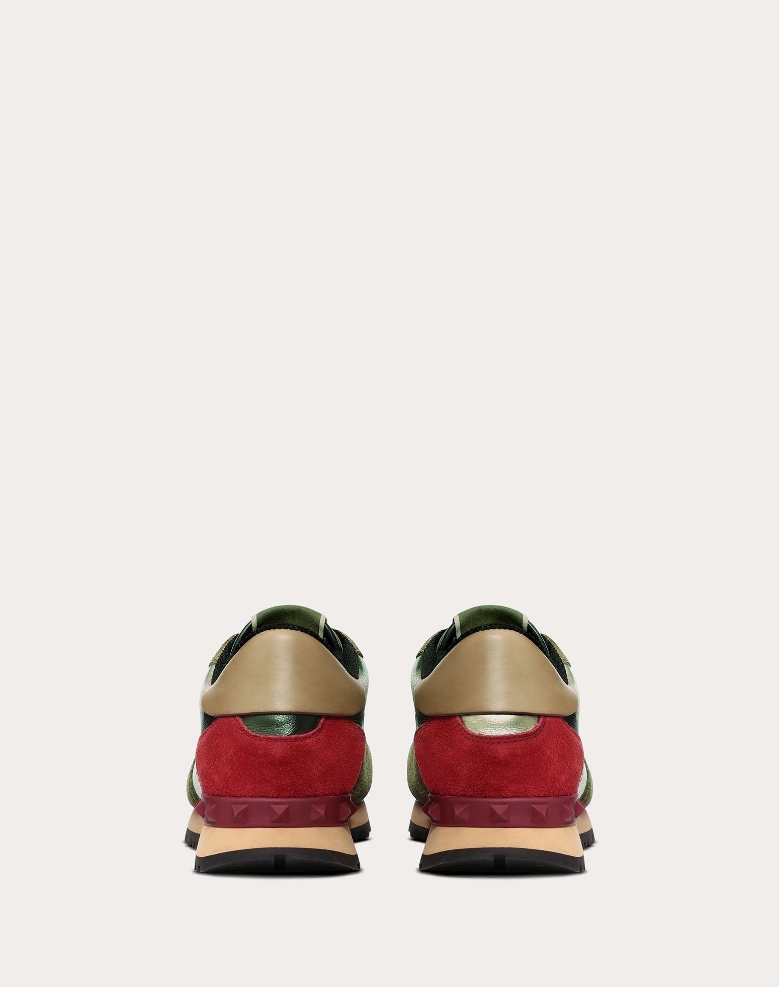 VALENTINO GARAVANI Camouflage sneaker LOW-TOP SNEAKERS D d