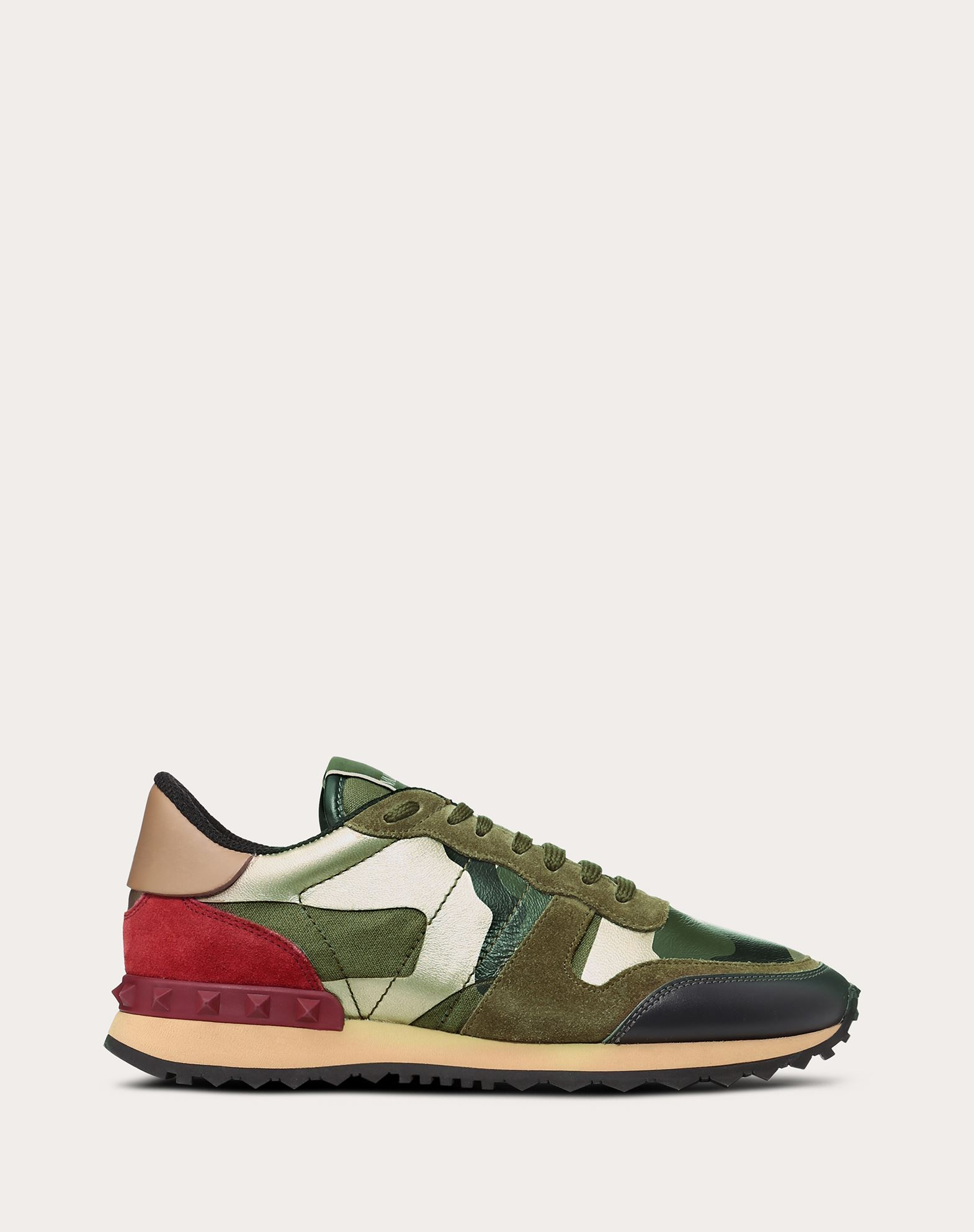 VALENTINO GARAVANI Camouflage sneaker LOW-TOP SNEAKERS D f
