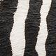 MARNI Fussbett D Fussbett zebra-designed calf pony rubber sole z