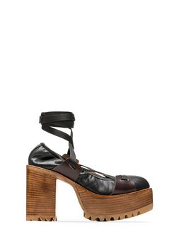 Marni Pump in nappa lambskin nylon lacing Woman