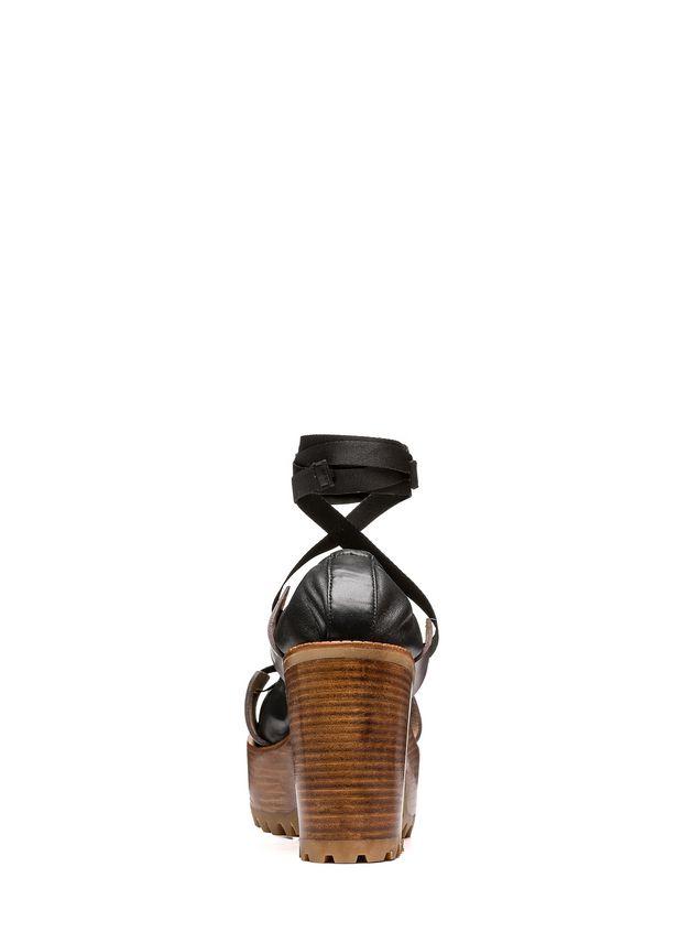Marni Pump in nappa lambskin nylon lacing Woman - 3