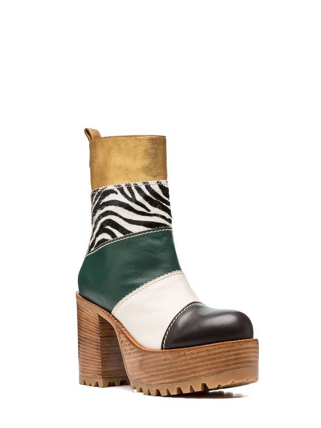 Marni Ankle boot zebra design calf  Woman - 2