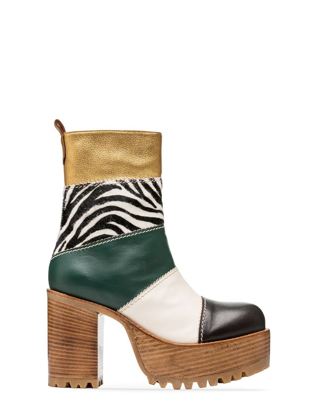 Marni Ankle boot zebra design calf  Woman - 1