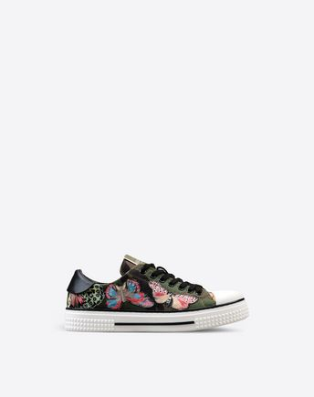 VALENTINO Sneaker Camubutterfly Noir 44910352FE