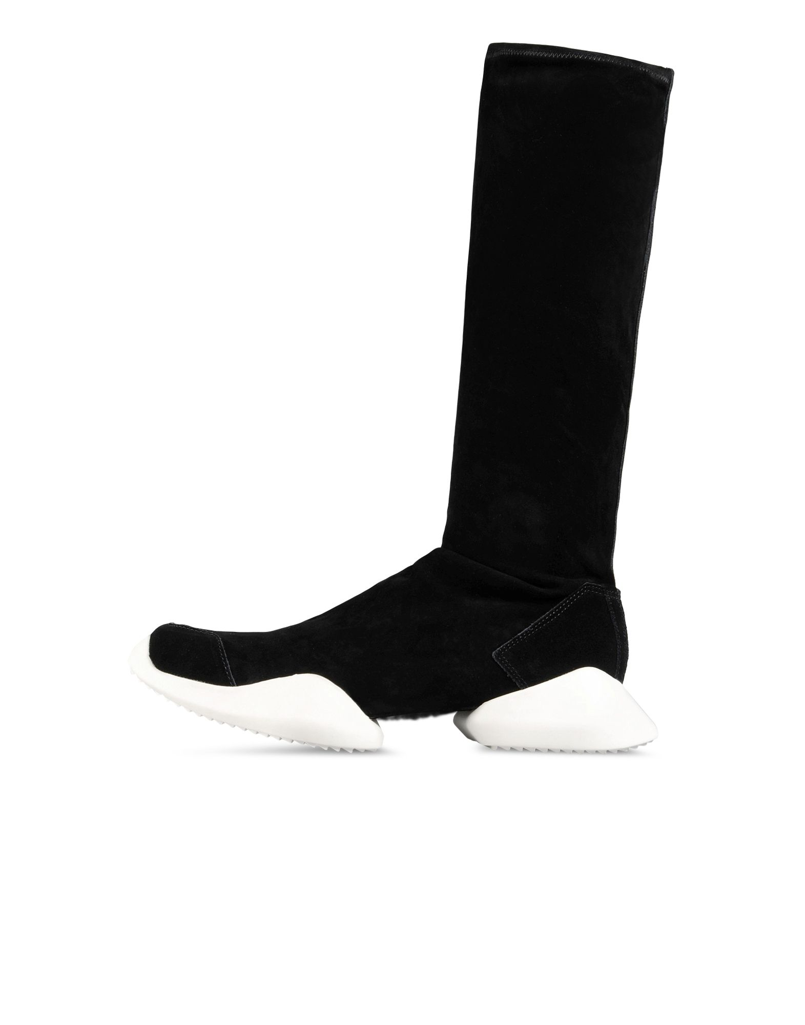 Y's White Stretch Sock Boots a9fIbc