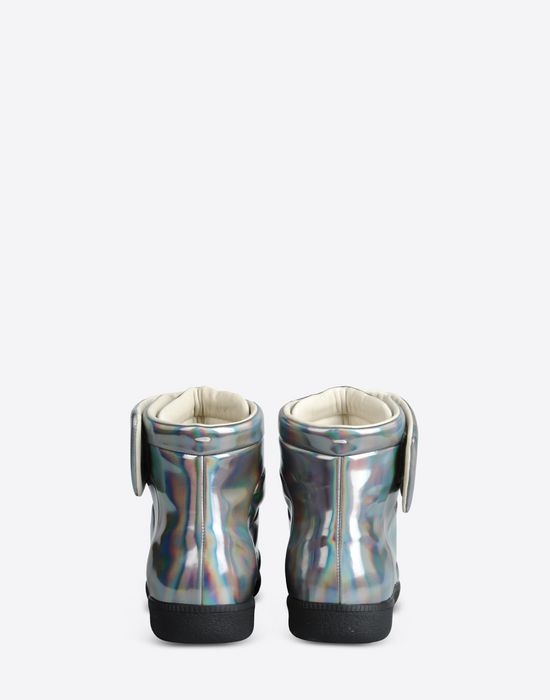 MAISON MARGIELA 22 'Future high top' sneakers in metallic fabric Sneakers U d