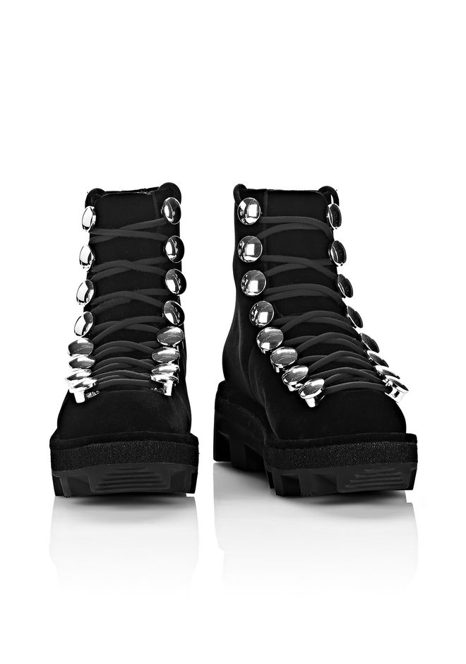 ALEXANDER WANG SAM LOW LACE-UP BOOT BOOTS Adult 12_n_d