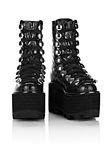 ALEXANDER WANG SAM HIGH LACE-UP BOOT BOOTS Adult 8_n_r