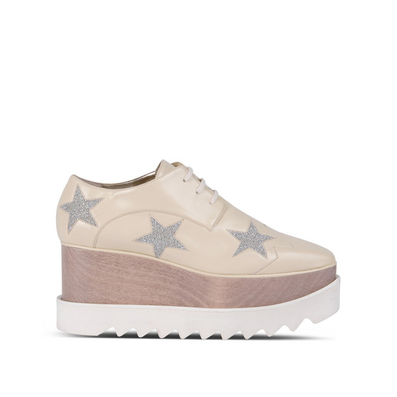 Ecru Elyse Star Shoes