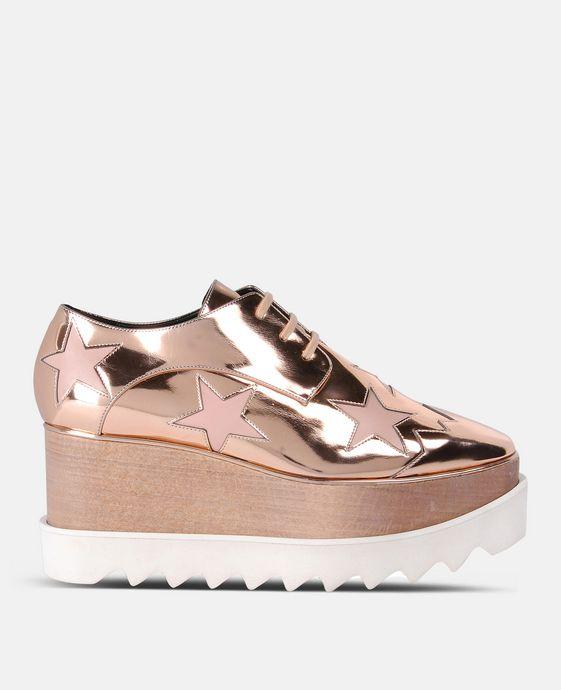 Chaussures Elyse cuivre étoilées