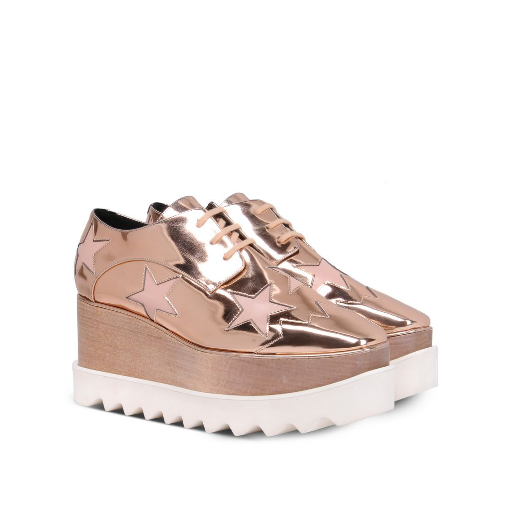 Copper Elyse Star Shoes - STELLA MCCARTNEY