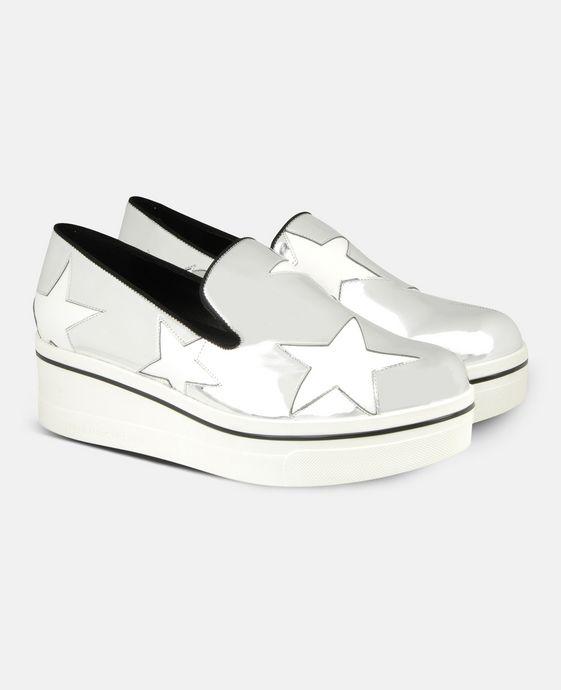 STELLA McCARTNEY Star Binx Loafers Flat Shoes D h