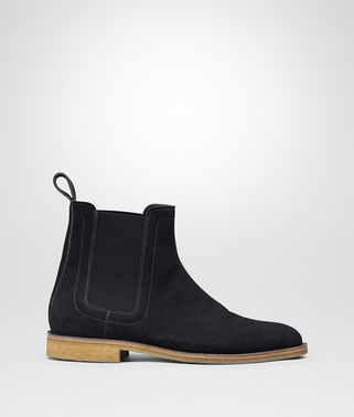 WEST BOOT IN DARK NAVY SUEDE