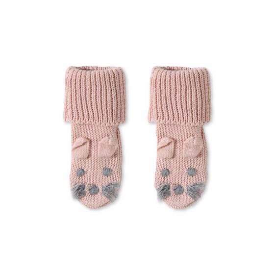 Pink Flopsy Booties