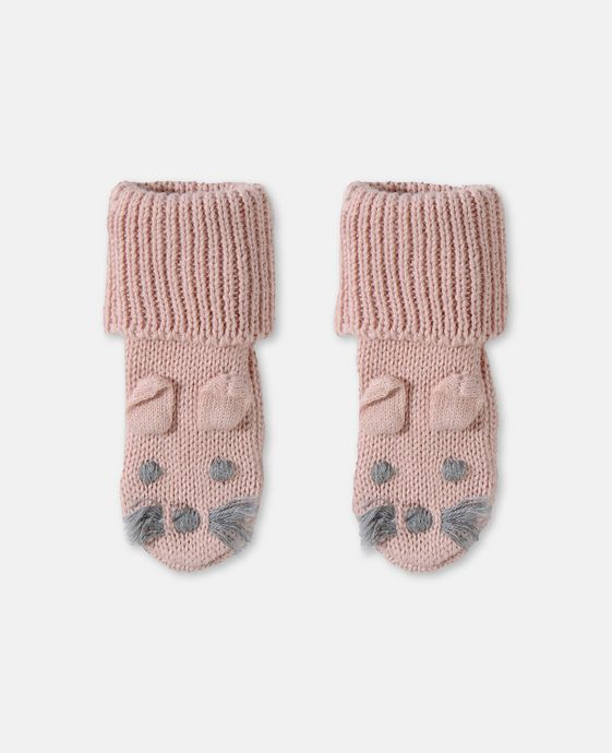 STELLA McCARTNEY KIDS Pink Flopsy Booties Shoes & Accessories E c