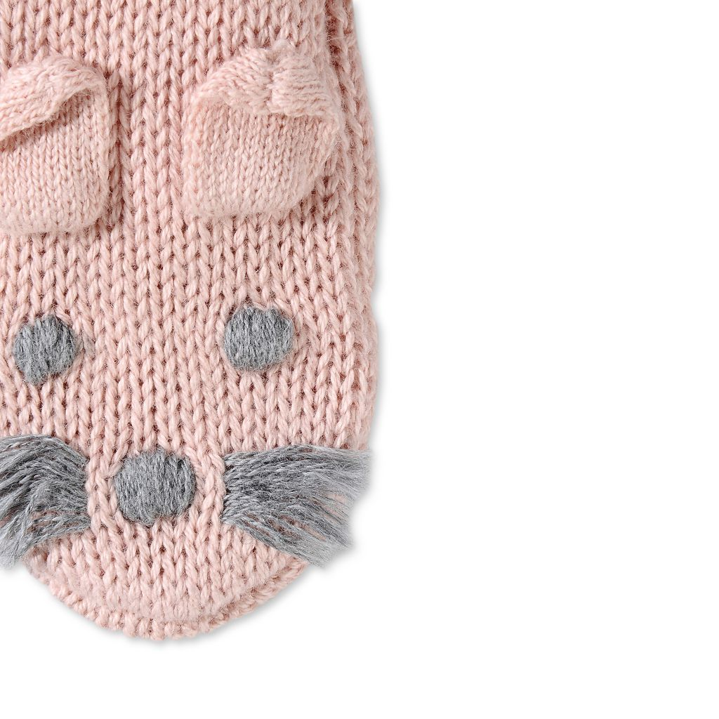 Pink Flopsy Booties - STELLA MCCARTNEY KIDS