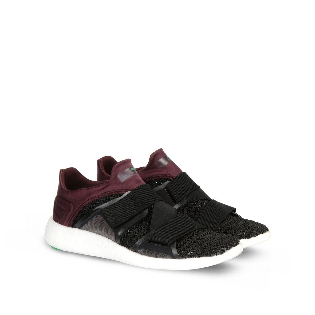 pomegranite pureboost running shoes adidas by stella mccartney. Black Bedroom Furniture Sets. Home Design Ideas
