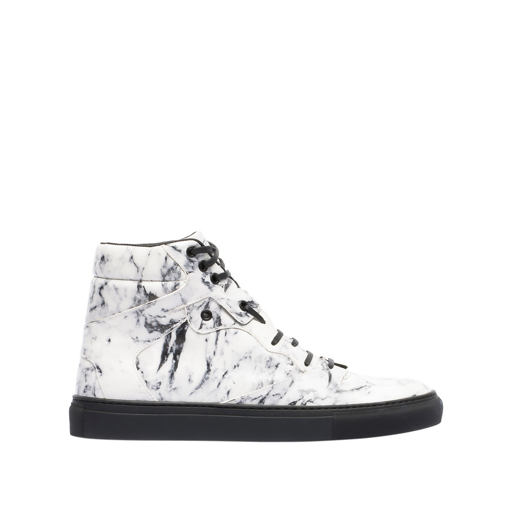 BALENCIAGA Marble High Sneakers Multimaterial Sneakers U f
