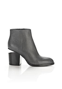 GABI DISTRESSED BOOTIE WITH RHODIUM
