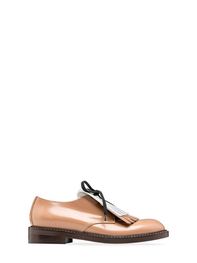 Marni Tri-coloured lace-up in calfskin Woman - 1