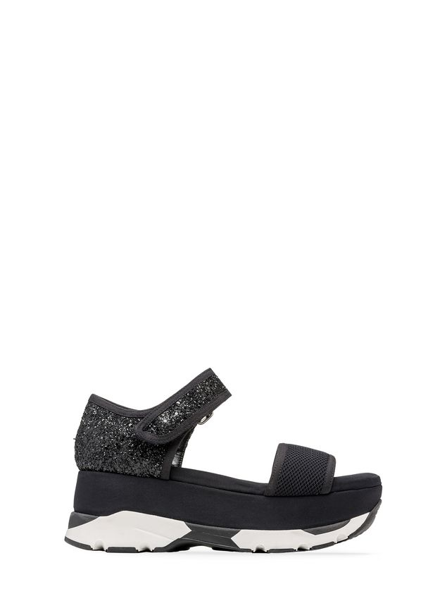 Marni Mesh Flatform Sandals manchester great sale sale online CNE6sMA3i