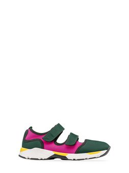 Marni Sneaker in fabric with hook and loop closure Woman