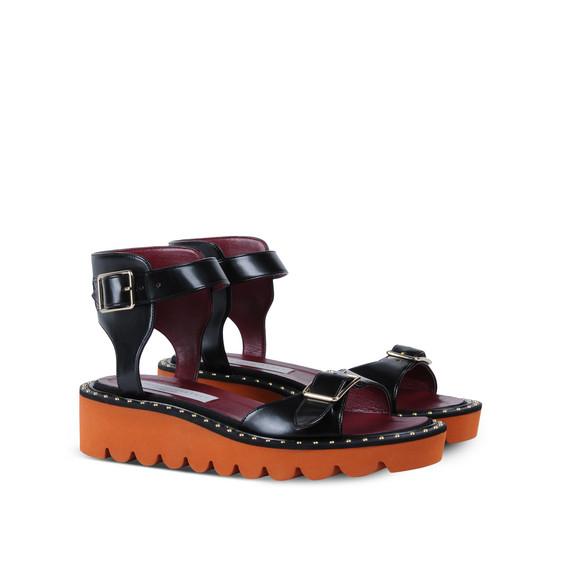 Black Odette Sandals