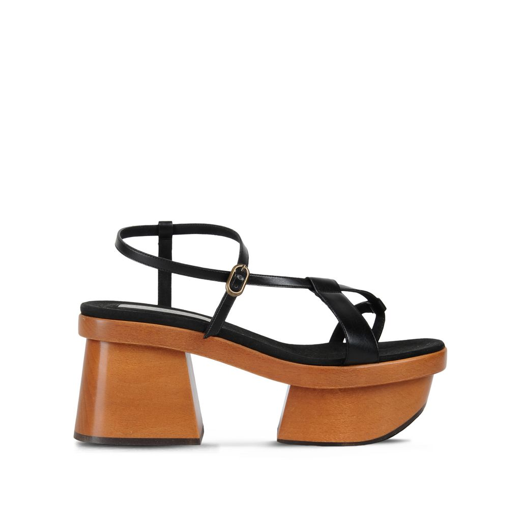 Black Strap Sandals - STELLA MCCARTNEY