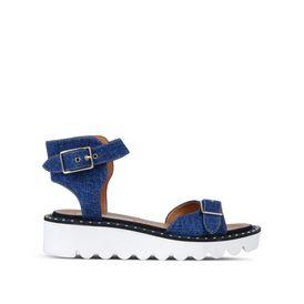 STELLA McCARTNEY Sandals D Denim Odette Sandals f
