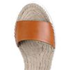 STELLA McCARTNEY Tan Raffia Espadrilles Sandals D a
