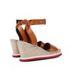 STELLA McCARTNEY Tan Raffia Espadrilles Sandals D d