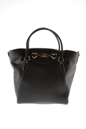 Large leather bag Woman MOSCHINO