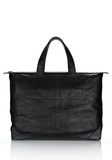 ALEXANDER WANG WALLIE WEEKENDER IN WAXY  BLACK WITH MATTE BLACK Travel Adult 8_n_f