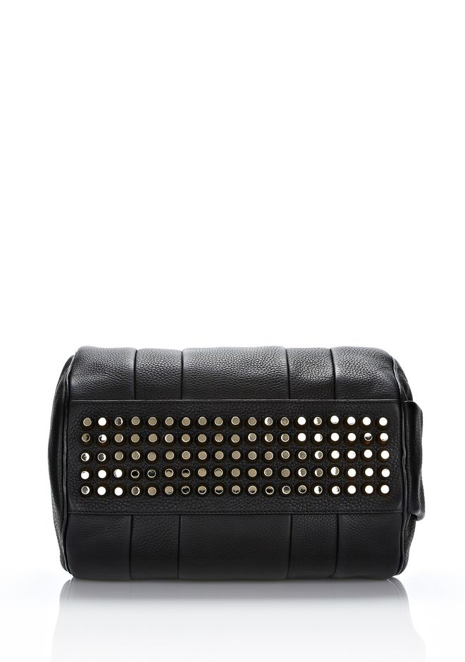 ALEXANDER WANG ROCCO IN SOFT BLACK WITH PALE GOLD Shoulder bag Adult 12_n_e