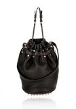 ALEXANDER WANG DIEGO IN BLACK PEBBLE WITH ROSEGOLD Shoulder bag Adult 8_n_f