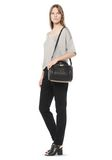 ALEXANDER WANG ROCKIE IN SOFT  BLACK WITH PALE GOLD Shoulder bag Adult 8_n_r