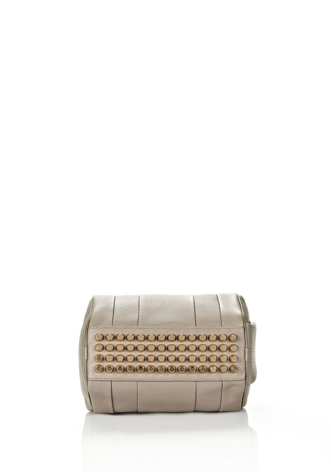 ALEXANDER WANG ROCKIE IN OYSTER SOFT PEBBLE LEATHER W/ PALE GOLD Shoulder bag Adult 12_n_d