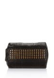 ALEXANDER WANG ROCCO IN BLACK PEBBLE WITH ANTIQUE BRASS Shoulder bag Adult 8_n_e