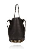 ALEXANDER WANG DIEGO IN BLACK PEBBLE  WITH ANTIQUE BRASS Shoulder bag Adult 8_n_d