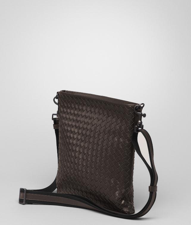 BOTTEGA VENETA LIGHT TOURMALINE INTRECCIATO SMALL MESSENGER BAG Messenger Bag U fp