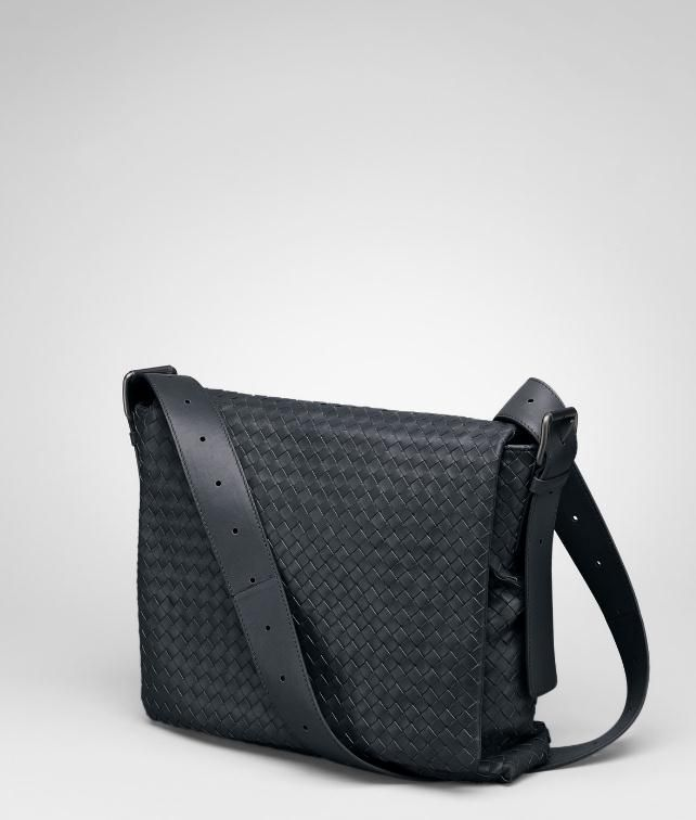 BOTTEGA VENETA Intrecciato Light Calf Cross Body Messenger Messenger Bag U fp