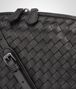 BOTTEGA VENETA MESSENGER BAG IN NERO INTRECCIATO NAPPA Crossbody bag D ep