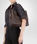 BOTTEGA VENETA Ebano Intrecciato Nappa Bag Shoulder or hobo bag D ap