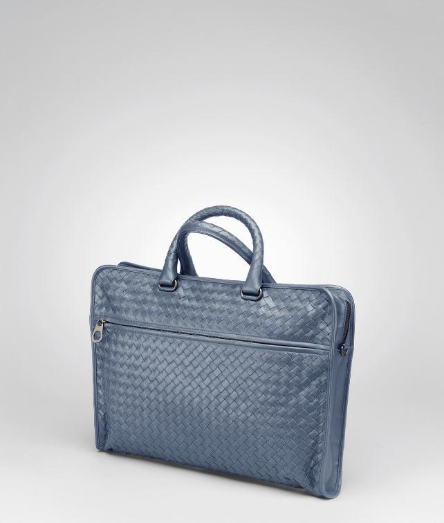 BOTTEGA VENETA BRIEFCASE IN NERO INTRECCIATO CALF Business bag U fp