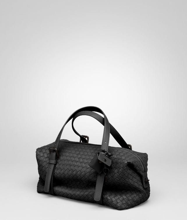 BOTTEGA VENETA Ebano Intrecciato Nappa Montaigne Bag Top Handle Bag D fp