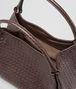 BOTTEGA VENETA Ebano Intrecciato Nappa Parachute Bag Shoulder or hobo bag D dp
