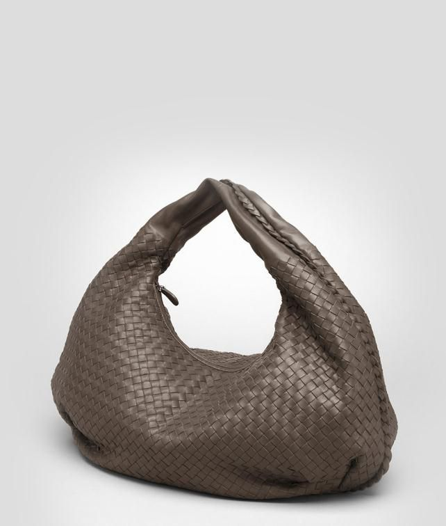 BOTTEGA VENETA Nero Intrecciato Nappa Bag Shoulder or hobo bag D fp