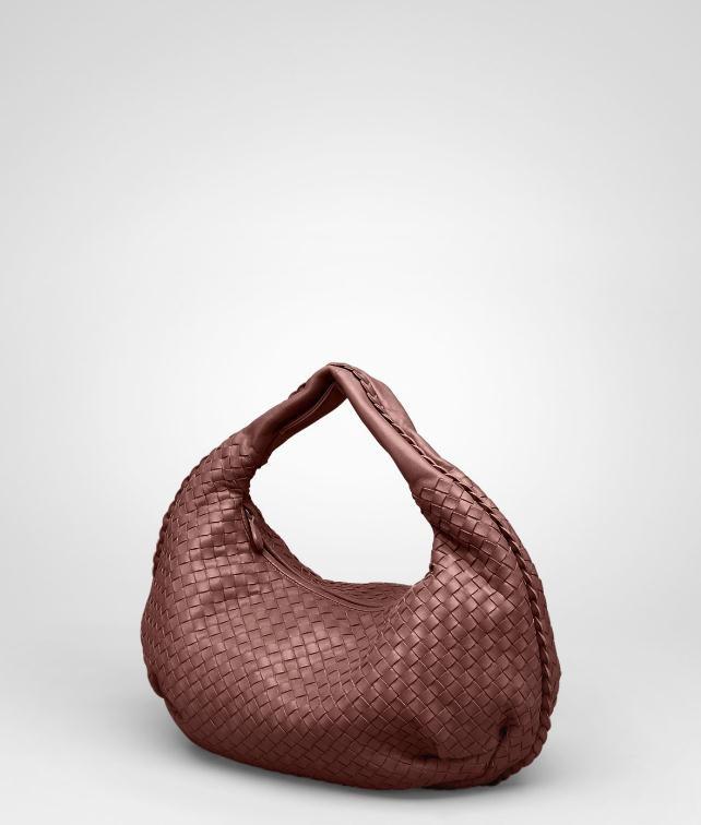 BOTTEGA VENETA Nero Intrecciato Nappa Bag Shoulder or hobo bag D fp